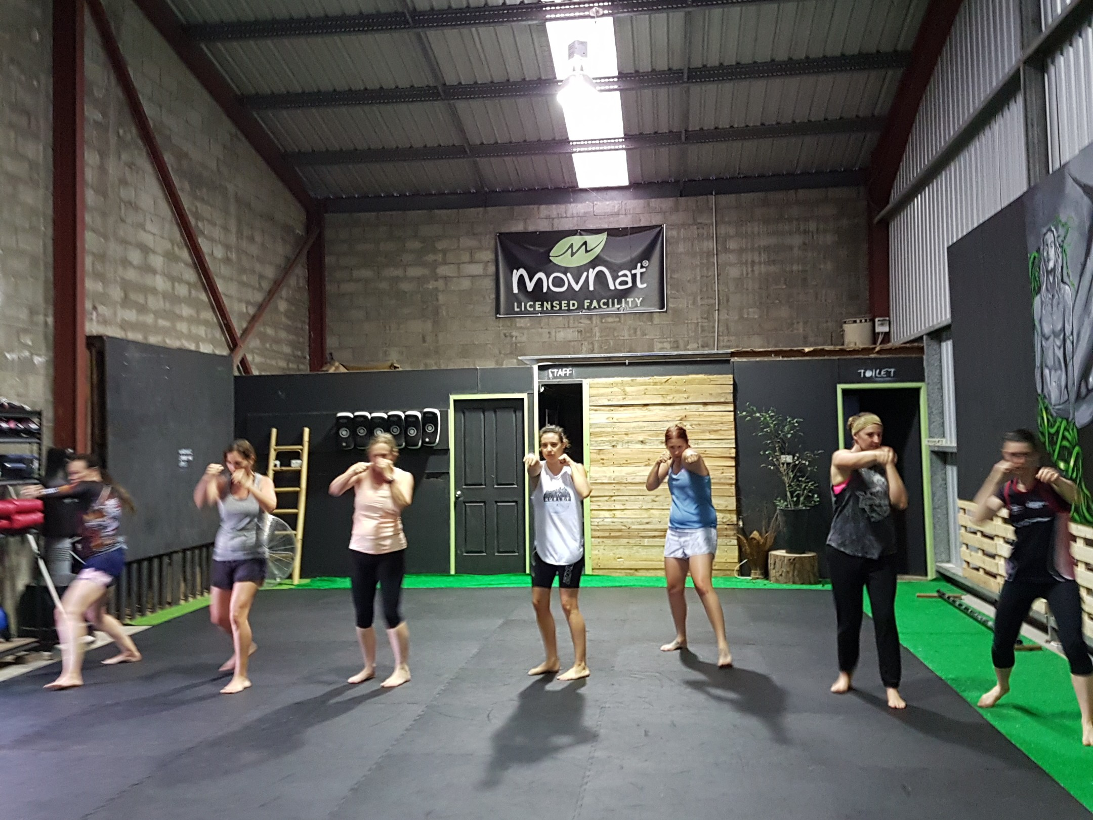 womens fitness boxing coffs